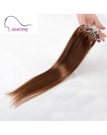 18 Inch Brown Brazilian Human Hair Weave