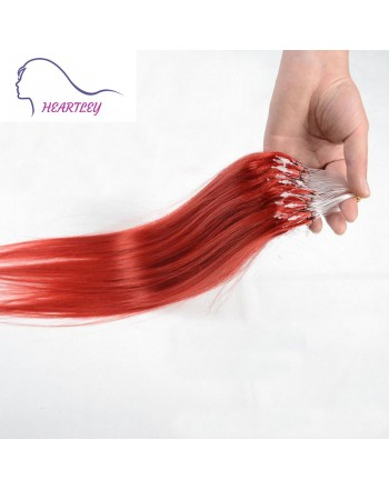 red-micro-loop-hair-extensions