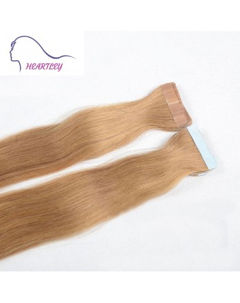strawberry-blonde-tape-hair extensions