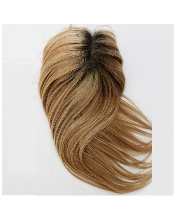 Human Hair Toppers Hair Pieces For Top Of