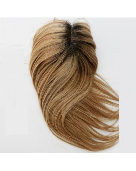 Human Hair Toppers Hair Pieces For Top Of Head Natural Wigs for Women With Thinning Hair