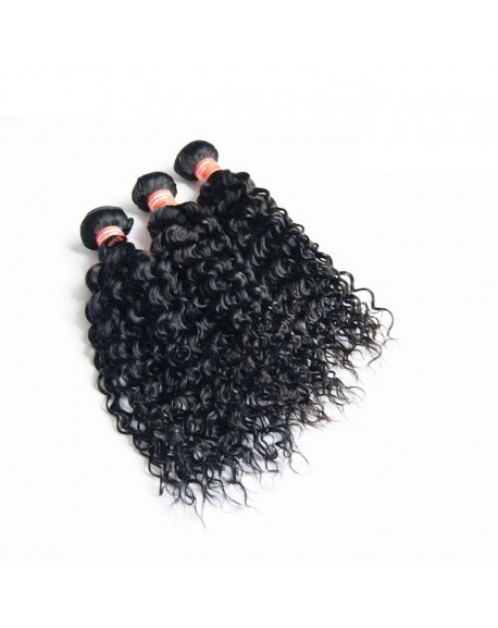 Beauty Brazilian Curly Hair Weave 3 Bundles 100% Remy Human Hair Extensions 3pcs/Pack