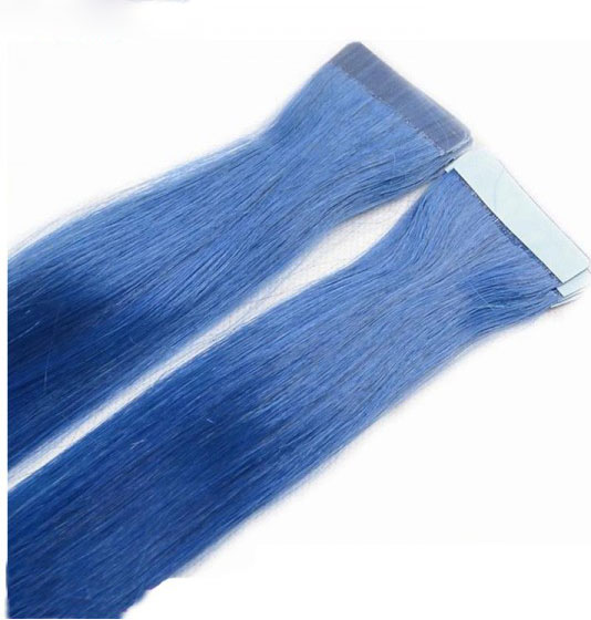 Blue Hair Extensions