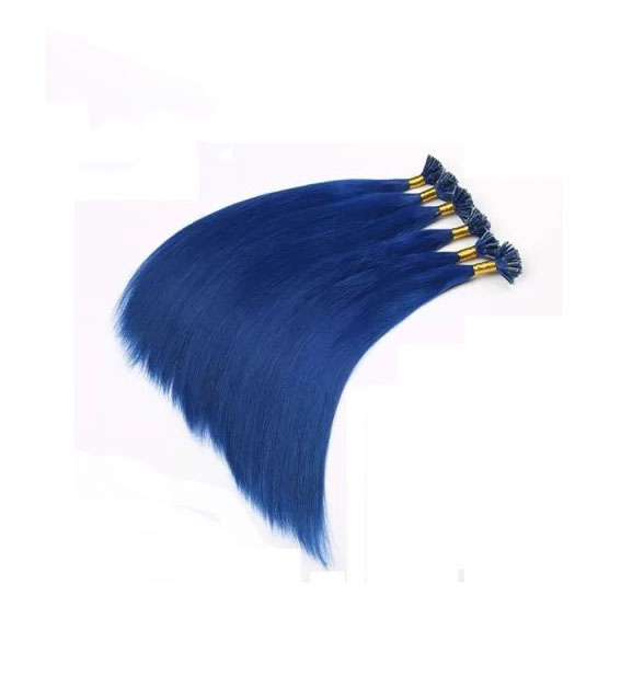 Blue Hair Extensions